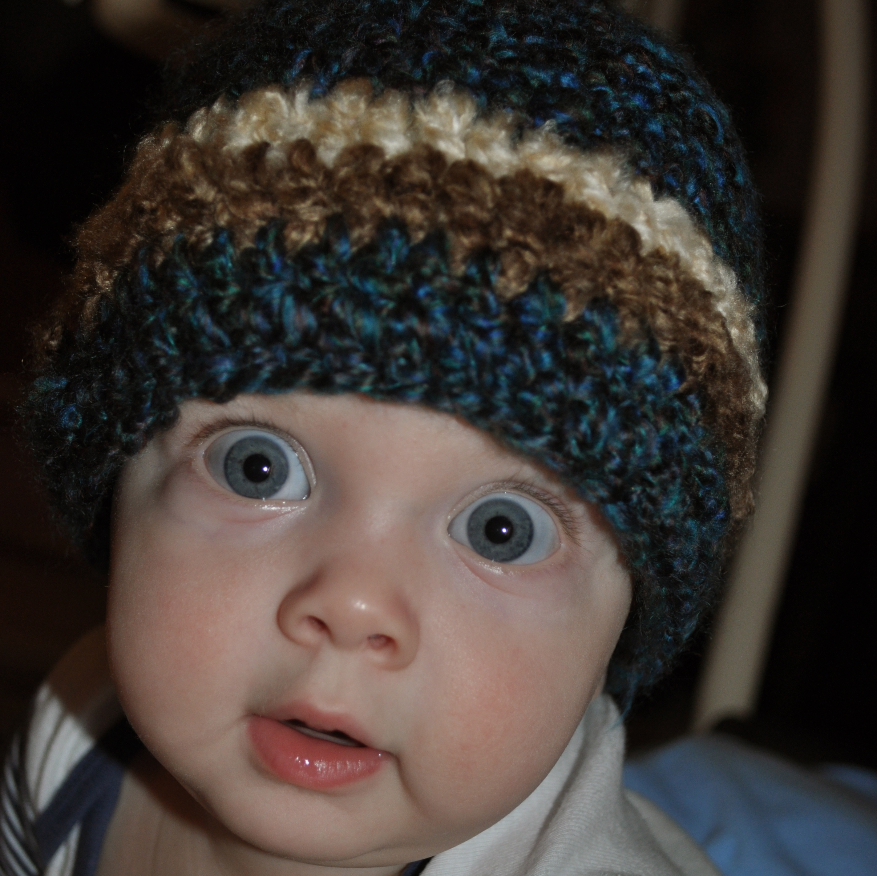 Easy Crocheted Kids Hat | The Martens House